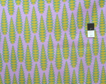 CLEARANCE SALE Anna Maria Horner FAAH017 Pretty Potent Aloe Vera Lavender Flannel Fabric By Yd
