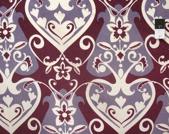 CLEARANCE SALE Anna Maria Horner VVAH04 Innocent Crush Queen Of Hearts Fuchsia Velveteen Fabric
