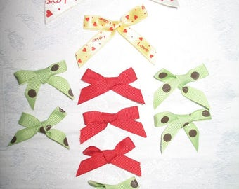 Variety of Ribbon Bows for Your Art, Craft, and Sewing Projects