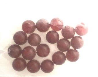 OnSale Carnelian 8mm Stone Bead Destash