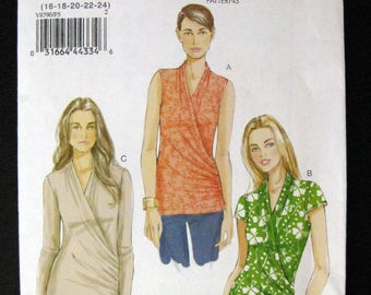 VOGUE V8790 pattern  Misses Top size 16 to 24 uncut pattern Very Easy Vogue