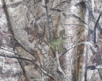 SPANDEX KNIT camo camouflage fabric True Timber HTC 2-way stretch free ship
