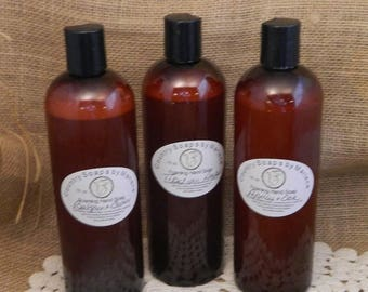 SALE Balsam and Cedar 16 oz foaming liquid soap  handmade soap homemade soap