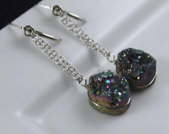 Rainbow Rock Earrings (E946)