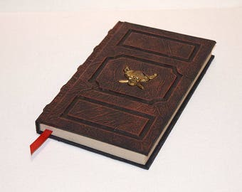 Pirate Log Book Tome Grimoire Sketchbook Journal Cosplay Larp