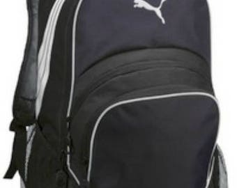 Puma Backpack-Navy Backpack-includes Monogram-School Bag-Diaper Bag