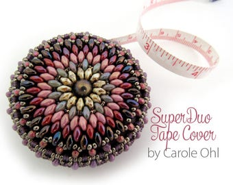 SuperDuo Tape Cover Tutorial by Carole Ohl