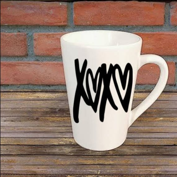 Xoxo Love Valentines Mug Coffee Cup Gift Home Decor Kitchen