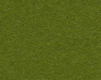 Moss 35/65 Wool Blend Felt 12x18