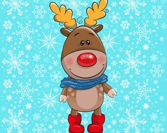 Rudolph cotton lycra panel