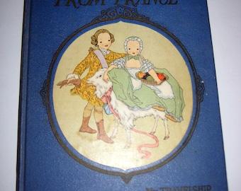 Vintage (1927) Chldren's Book - Nursery Friends from France - Beautiful Illustrations