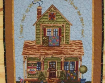 Wall Hanging Quilt A Quilters Home Handmade Home Decor Wall Art
