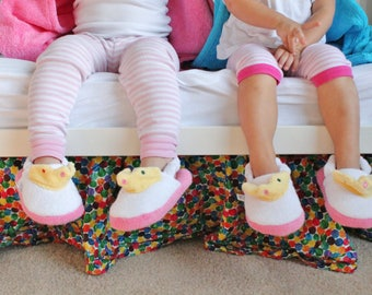 Yikes Twins Children's Princess slippers