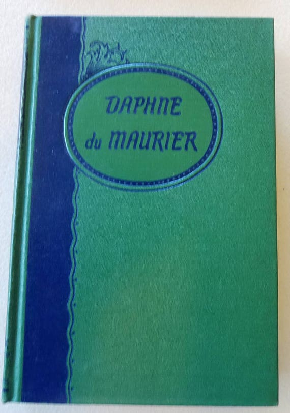 Hungry Hill vintage old book 1943 hardcover Daphne du Maurier Dial collier books old books