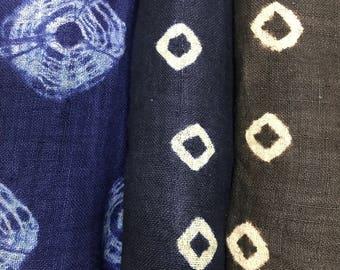 Hmong Tie dye Hemp Fabric