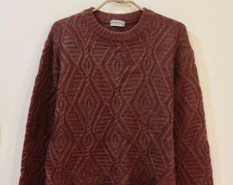 Vintage Brick Red Sweater