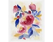 Abundance Watercolor Print