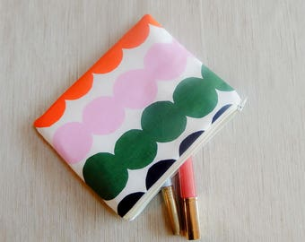 Make Up Bag/ Marimekko Pencil Case/ Marimeko Gifts/ Gift for Her/ Valentine Day Gift/ Gift for Mom/ Gift for Wife/ BFF Gift/ Coworker Gift