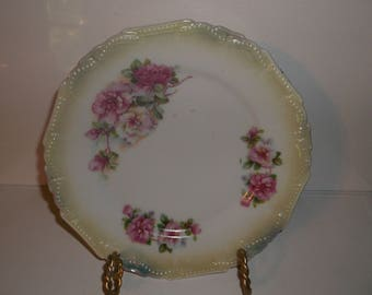 Antique/vintage Roses Germany China Plate 7 inch