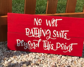 Backyard sign, Pool Decorations, Patio signs, Swimming Pool Decor, Wood Pool Sign, Pool Signs, Deck Decor, Deck Signs, Signs