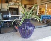Purple Feather Bud Vase, ...