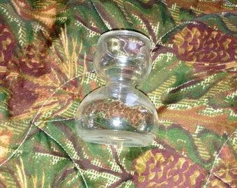 SALE Vintage Double Bubble Shotglass