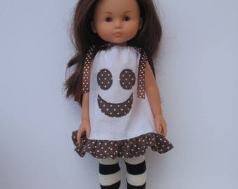 Clothes for Corolle Les Cheries Doll Dress and Leg warmer
