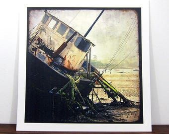 Boat #10 - Brittany - expo 30x30cm print - signed and numbered