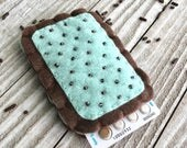 The Original Toaster Pastry Birth Control Case - Mint Chocolate