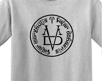 "Game of Thrones - ""VALAR MORGHULIS 1"" Unisex T-shirt - GOT"