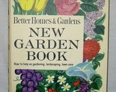 New Garden Book - Revised Edition (Better Homes and Gardens - Copyright 1961