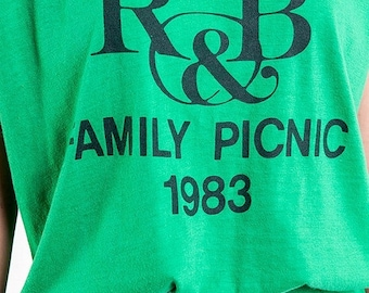 40% SUMMER SALE The R&B Family 1983 Picnic Tee