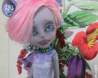 Amy- OOAK Monster High Mouscedes King Doll