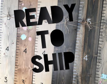 """READY TO SHIP Growth Chart - Height Chart Ruler - Oversize Ruler - Growth Ruler - Engraved Growth Chart """"Beyond Measure"""" Up to 6ft! - Ruler"""
