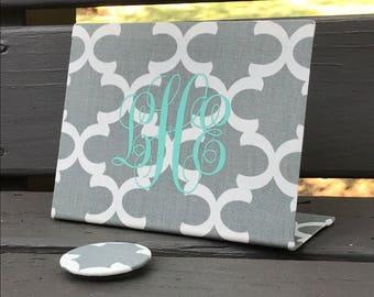Monogram Magnet Board, Hostess Gift, Sorority Sister, Office Organizer, Home Organizer, Home Office Decor, Desk Organizer, Desktop