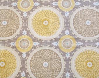 Waverly Bohemian Swirl Pumice Home Decor Fabric