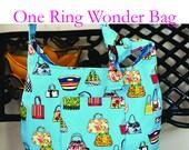 One Ring Wonder Bag Pattern | PDF Sewing Pattern | Bag Sewing Pattern |