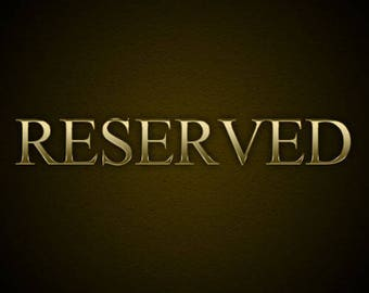 Reserved for GK - Payment 2