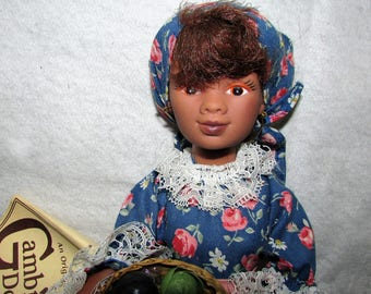 HAND MADE In New Orleans Vintage Doll Monique Gambina Doll