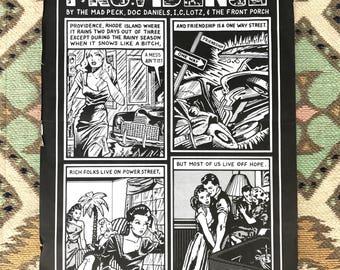 Comic Art Poster // Providence // Mad Peck Studios
