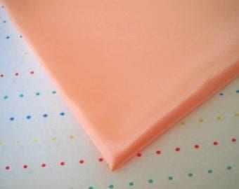 "Peach Satin Lining Fabric, 60"" Wide, BTY"