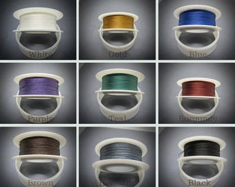 TuffCord #5, TuffCord, Tuff Cord, YOU choose color, Twisted Cord, Stiff Nylon cord, Wrap Bracelet Cord, macrame cord, Size zero, TuffCord,