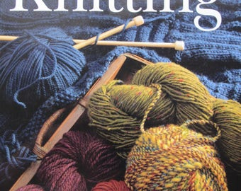 Big Book of Knitting, Hardcover, Illustrated, Knitting Projects, Stitches, Techniques, 1999