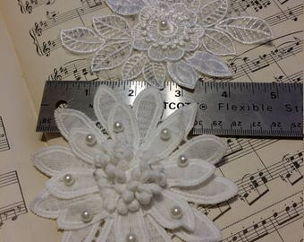 Two Flower Appliques