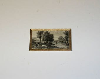 Antique Lithograph - OOAK