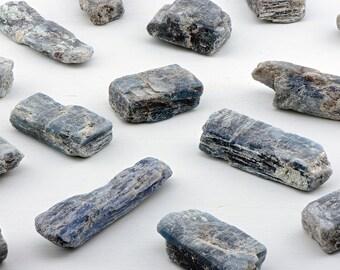 Blue-Green Kyanite Gemstone - Ethereal Power & Royalty