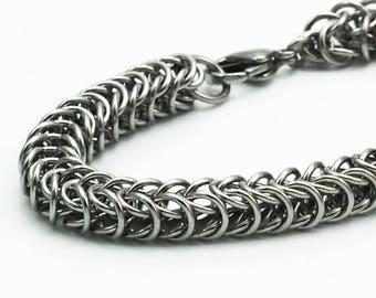 Stainless Steel Inca Puno Bracelet