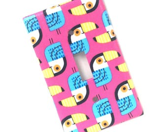 Toucan Light Switch Plate Cover