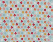 Riley Blake Just Dreamy 2 Knit Fabric - K4134 Polka Dots Knit Fabric - Riley Blake Cotton Lycra Knit Fabric - Riley Blake Knit