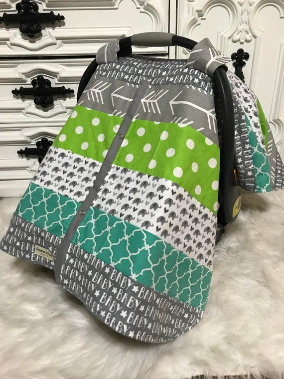 Car seat canopy / Boy Car seat cover / car seat cover / carseat cover /carseatcover /carseat canopy / baby boy / cars